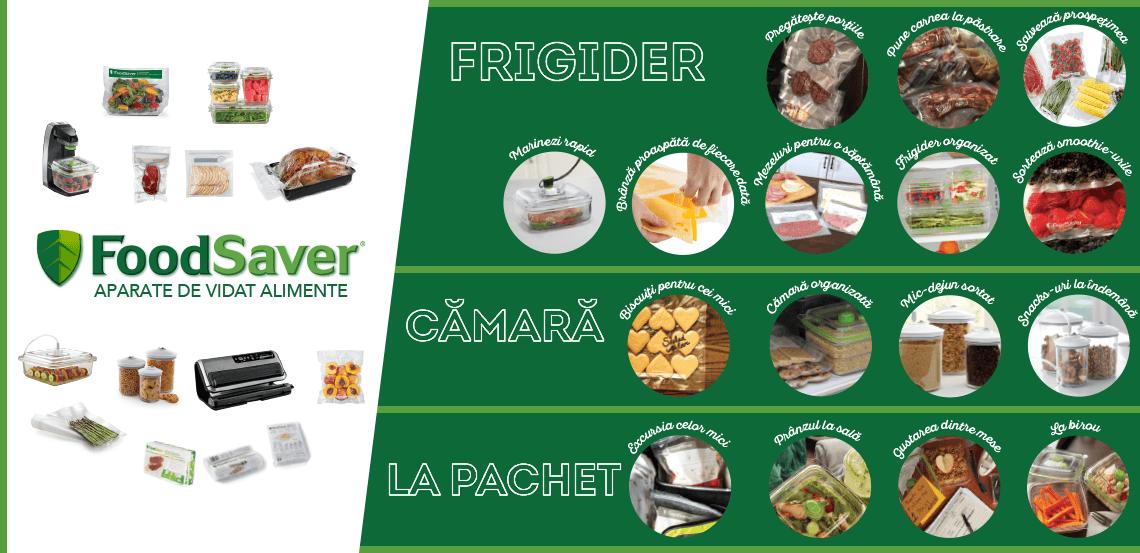 Afla cum poti pastra alimentele proaspete mai mult timp!