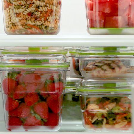 Păstrează frigiderul organizat